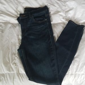 Express high rise legging jeans